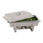 Rectangular Polished Stainless Steel Chafing Dish