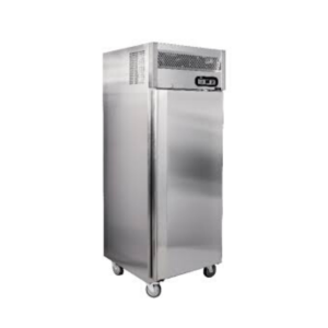 Stainless Steel Single Door Upright Refrigerator