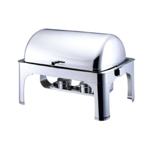 Rectanguler Contemporary Chafer Roll Top