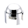 Round Contemporary Chafer Roll Top