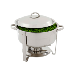 Round Polished Stainless Steel Chafing Dish