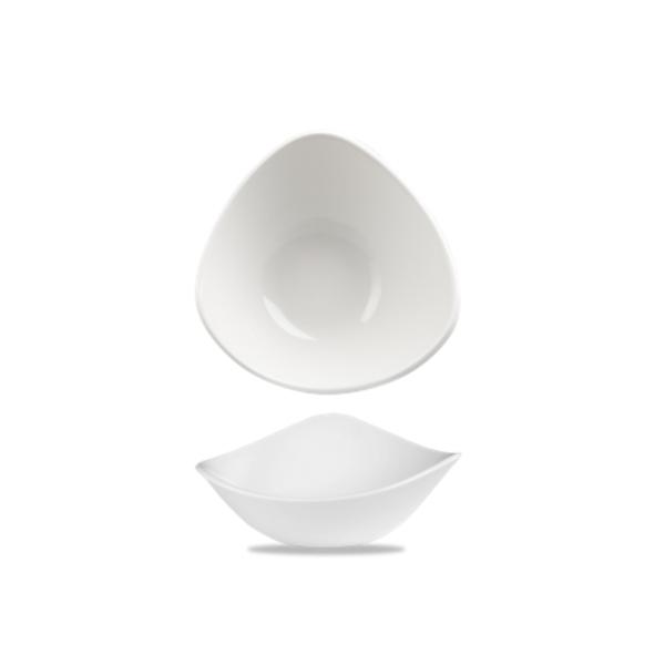 Lotus Triangular Bowl